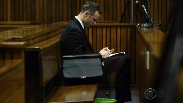 Oscar Pistorius trial: Crime scene photos show bloodied athlete
