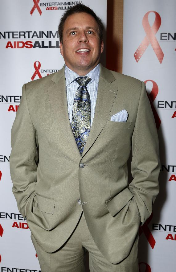 Chris Long, Senior Vice President, Entertainment & Production at DIRECTV is seen at the Visionary Awards benefiting the Entertainment AIDS Alliance, on Wednesday, Nov. 14, 2012 in Los Angeles. (Photo by Todd Williamson/Invision for the Entertainment AIDS Alliance/AP Images)