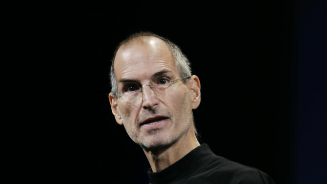 "FILE - This Sept. 9, 2009 file photo shows Apple CEO Steve Jobs at an Apple event in San Francisco. The 18th edition of ""Bartlett's Familiar Quotations,"" has just been released, the first for the electronic age and a chance to take in some of the new faces, events and catchphrases of the past 10 years. General editor Geoffrey O'Brien says he has expanded upon the trend set by his predecessor, Justin Kaplan, of incorporating popular culture into an anthology once known for classical citations. Shakespeare and the Bible still reign, but room also has been made for Steve Jobs, Madonna and Michael Moore, Justin Timberlake and Jon Stewart. (AP Photo/Paul Sakuma, file)"
