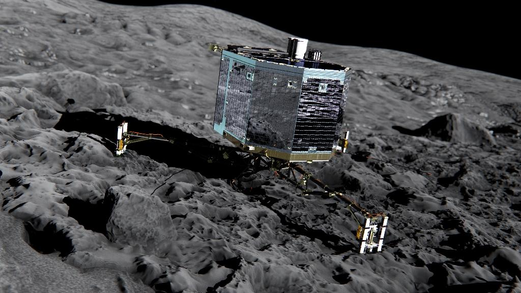 Despite rocky start, Philae comet probe has raked in science data