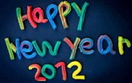 new year 2012 art