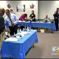 Trenton Area Vets Attend Job Fair