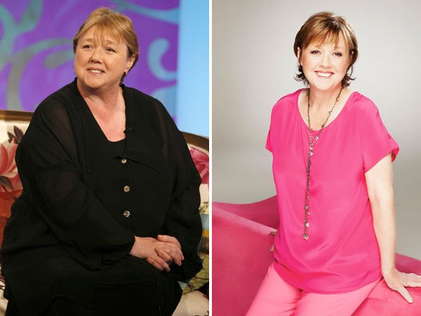 Pauline before in 2008 and now Photo: Left: Rex Features Right: David ...