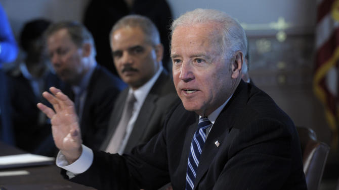 Biden voices interest in new technology for guns