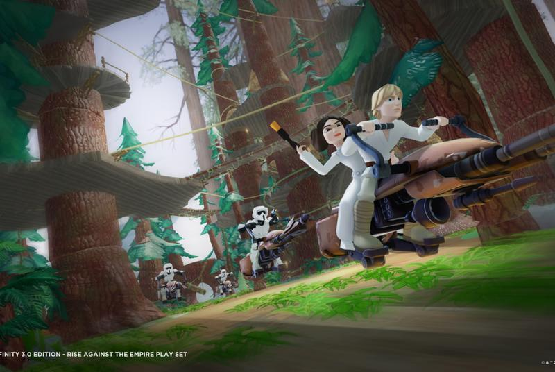 Disney Infinity is getting a Star Wars edition this fall