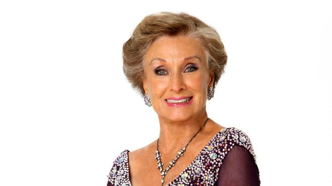 Actress Cloris Leachman partners with professional dancer Corky Ballas for Season 7 of Dancing with the Stars.