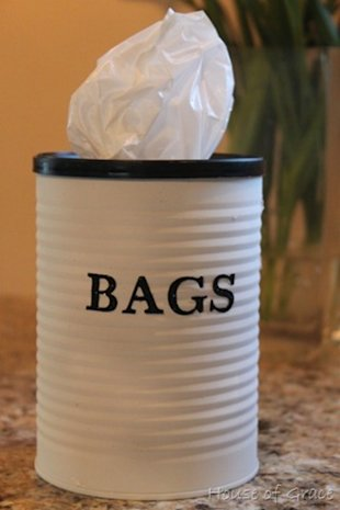 Coffee Can Bag Container
