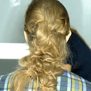 Michael Kors Backstage: S/S12: In Detail Plaits: Hair Ideas Beauty