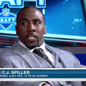 Buffalo Bills running back C.J. Spiller on top running backs in 2015 NFL Draft