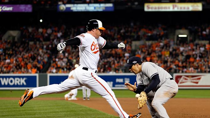 5 New York Yankees v Baltimore Orioles - Game One