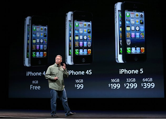 Apple Introduces iPhone 5
