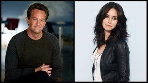 'Friends' Reunion: Courteney Cox Heads to Matthew Perry's 'Go On' (Exclusive)