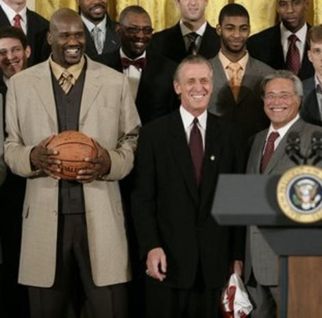 Another NBA Title for Pat Riley's Miami Heat Reopens Old Wounds for New York Knicks Fans