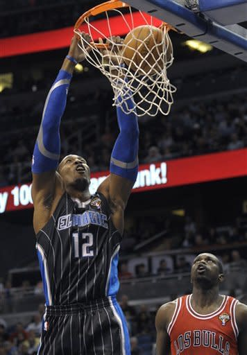 Boozer's big night leads Bulls over Magic 85-59