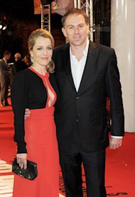 Gillian Anderson and Mark Griffiths | Photo Credits: Dave M. Benett/Getty Images