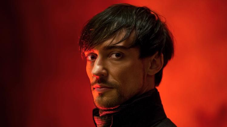 "This publicity image released by Starz shows Blake Ritson as Count Riario in a scene from ""Da Vinci's Demons,"" premiering Friday, April 12 at 10 p.m. EST on Starz. (AP Photo/Starz Entertainment, LLC, James Minchin)"