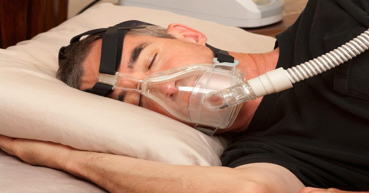 Is wearing a mask your whole life for snoring fun?