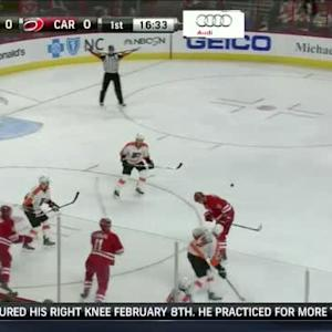 Flyers at Hurricanes / Game Highlights