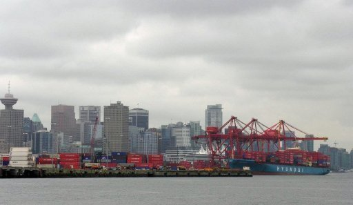 &lt;p&gt;A container ship (R) unloads imports from China in 2005 at the P&O Central Terminal in the Port of Vancouver, Canada. China&#39;s ambassador to Canada said in an interview that the two countries should move speedily to sign a free-trade agreement if bilateral business is to flourish.&lt;/p&gt;