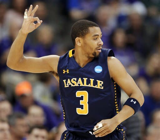 No. 13 seed La Salle beats No. 4 K-State, 63-61