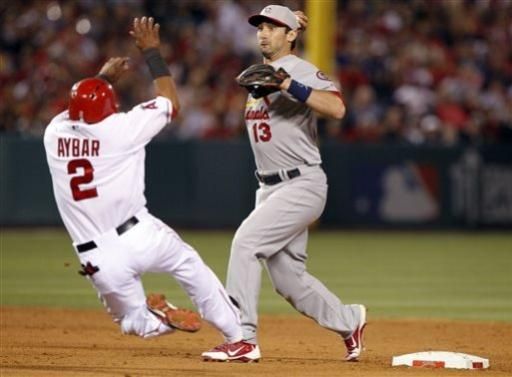 Angels use 3-run ninth to beat Cardinals 6-5