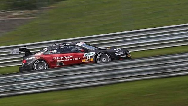 2012 DTM Red-Bull-Ring Audi Edoardo Mortara