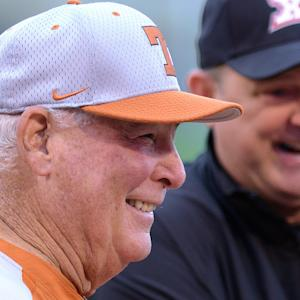 Augie Garrido Reacts to Championship Win