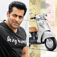 Salman Khan To Come Up With 'Being Human' Scooters Now