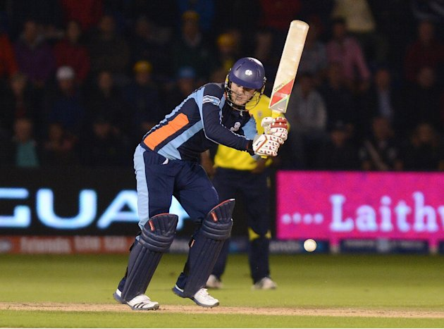 David Miller guided Yorkshire to victory
