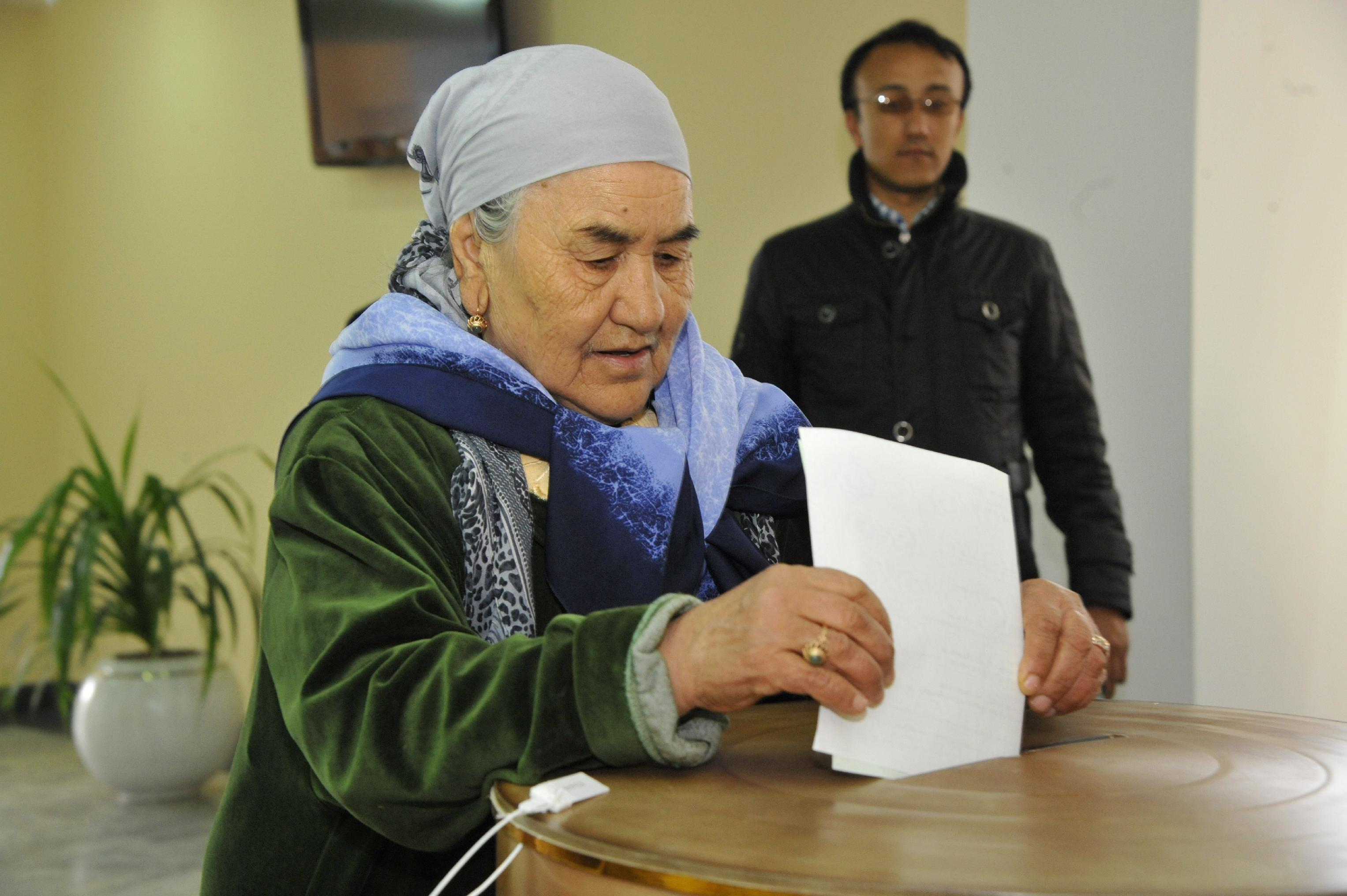 Uzbekistan's election sees turnout at 91 percent