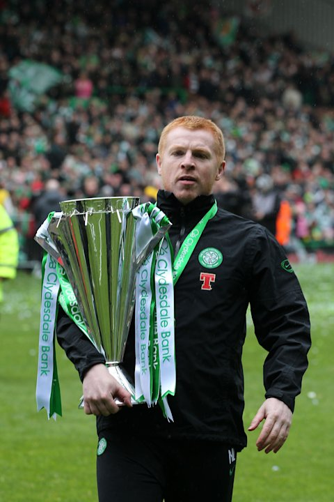 Neil Lennon led Celtic to the Clydesdale Bank Scottish Premier League title last season