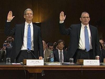 Tim Cook Defends Apple's Tax Accounting