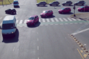 In the world's most dangerous intersection, nobody gets hit
