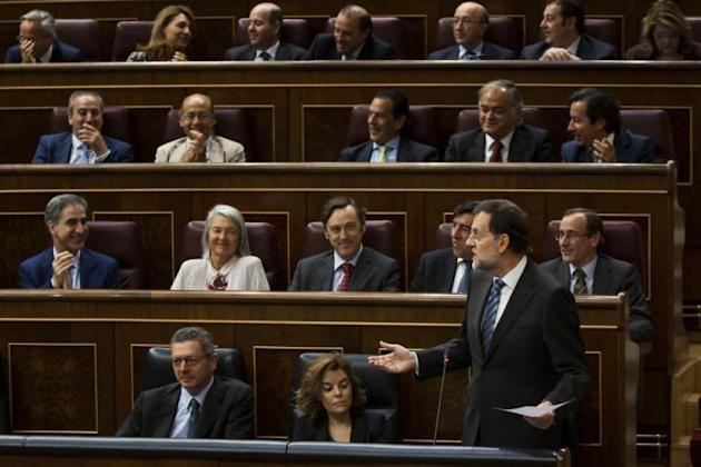 Madrid, appello del premier Rajoy al Parlamento