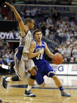 Seton Hall ends DC skid, tops Georgetown 67-57