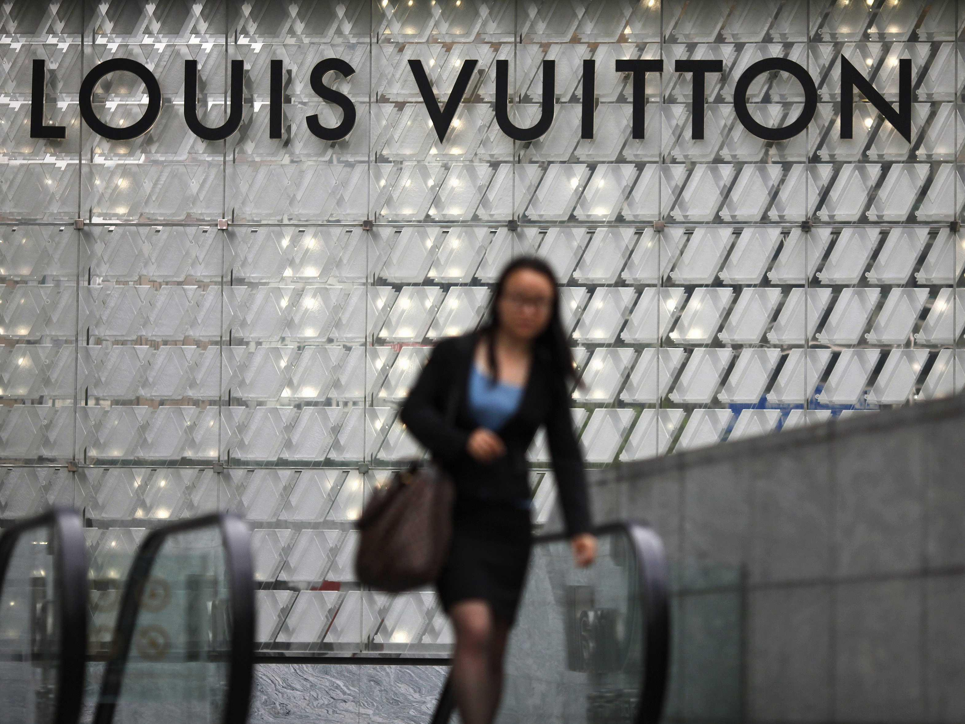 Louis Vuitton is now a 'brand for secretaries' in China