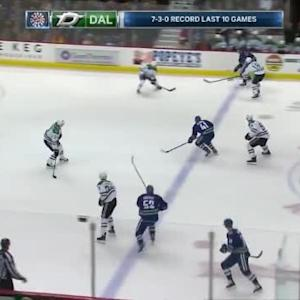 Kari Lehtonen Save on Christopher Tanev (05:32/1st)