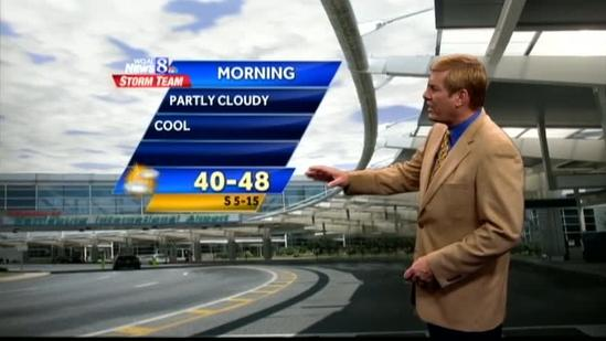 Warmer temperatures expected over weekend