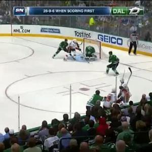 Kari Lehtonen Save on Deryk Engelland (01:02/1st)