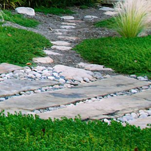 Slabs and pebbles