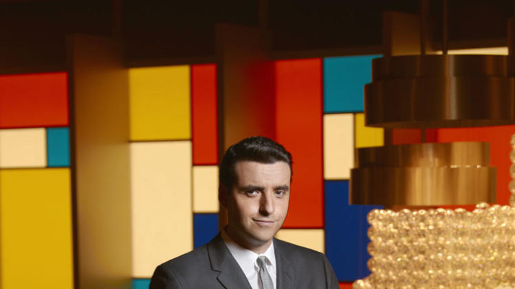 "David Krumholtz stars as Billy in ""The Playboy Club."""