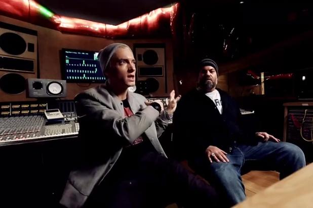 Eminem, Dr. Dre and 50 Cent Drop Shady Records Documentary (Video)