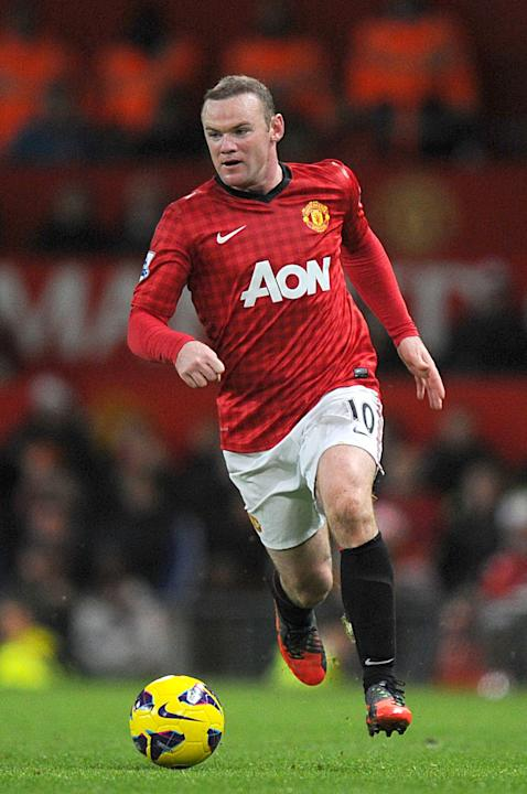 Soccer - Wayne Rooney Filer