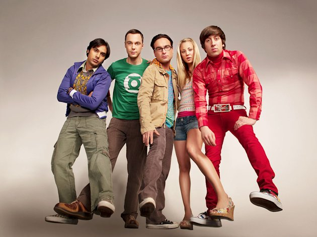 "The cast of ""The Big Bang Theory."""
