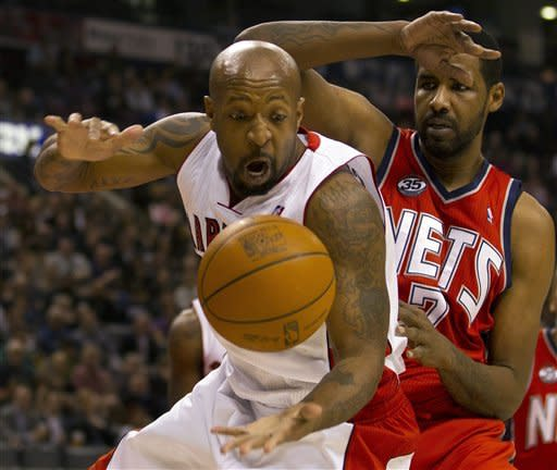 Nets use 3-point barrage to beat Raptors 97-85