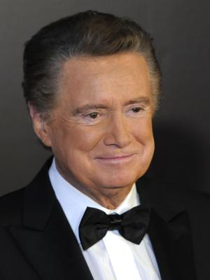 """FILE - In this June 27, 2010 photo, host Regis Philbin arrives at the 37th Annual Daytime Emmy Awards, in Las Vegas. It Books announced Monday, May 9, 2011 that Philbin, the retiring star of """"Live! With Regis and Kelly,"""" has a memoir coming this fall, in which he will reflect on his decades-long television career, including stories about """"Live!"""" co-host Kelly Ripa and her predecessor Kathie Lee Gifford, as well as interactions with celebrities. (AP Photo/Chris Pizzello, File)"""