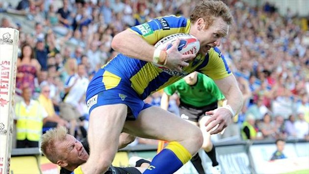 Joel Monaghan helped the Wolves leapfrog Wigan into second place
