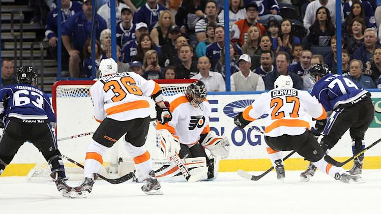 NHL: Philadelphia Flyers at Tampa Bay Lightning