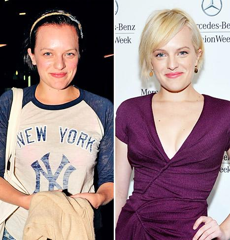 PICTURE: Elisabeth Moss Is a Brunette Again!