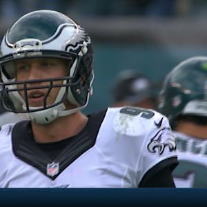 Philadelphia Eagles quarterback Nick Foles' tough Week 3 performance